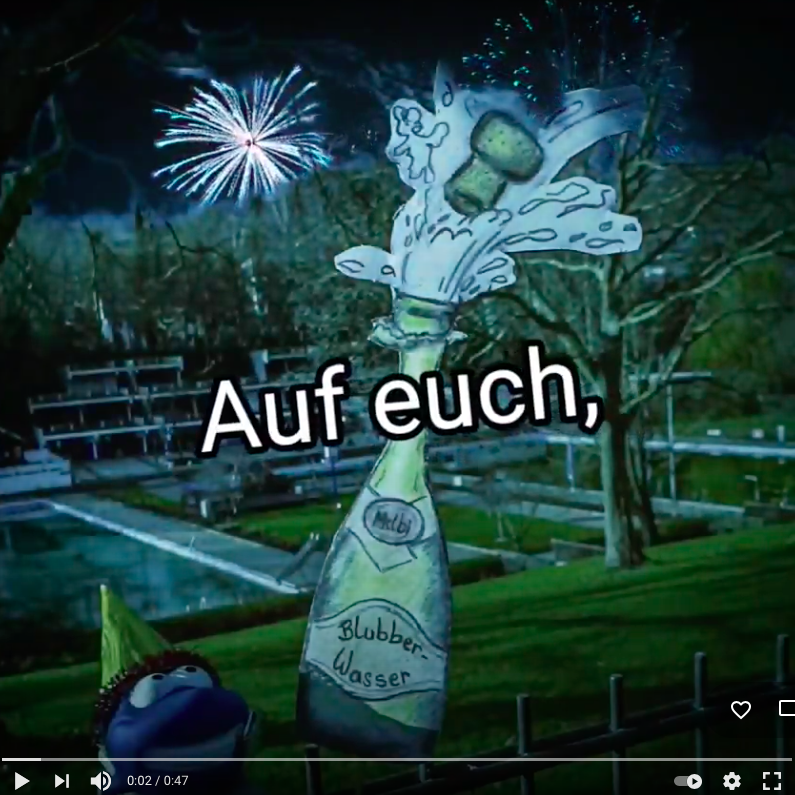 Vorschaubild Video zum Neujahr 2021